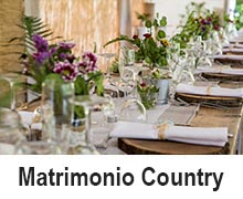 pulsante matrimonio country